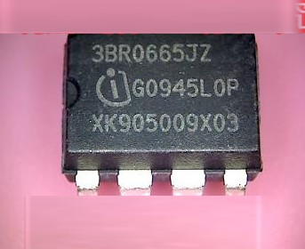 3BR0665JZ ICE3BR0665J 3 or 5 pcs SMPS CURRENT MODE CONTROLLER DIP-7-1