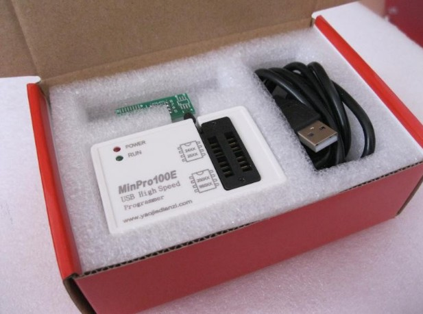 MinPro100E BIOS โปรแกรมเมอร์ SPI FLASH (เหมาะสำหรับท่านที่ชอบลอง
