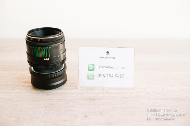 ขายเลนส์มือหมุน Helios 44-2 58mm F2 ใส่กล้อง Sony Mirrorless ได้ทุกรุ่น