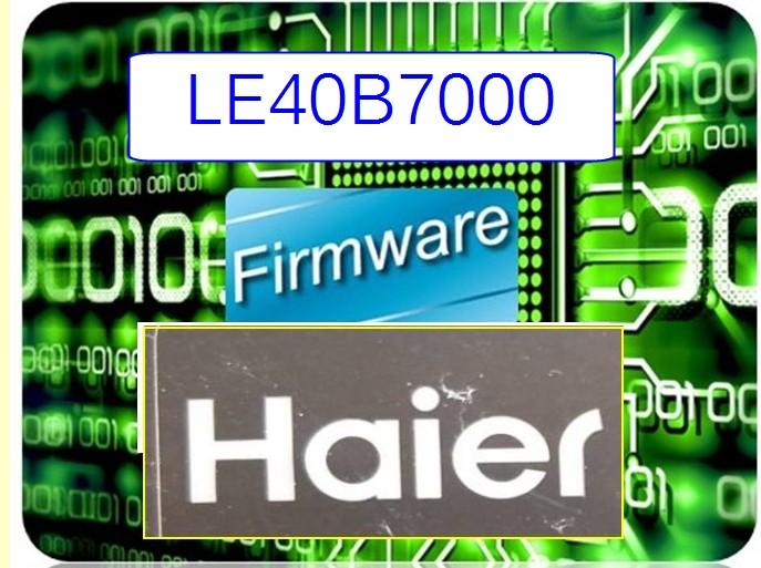 firmware-Haier-LE40B7000 (25L32)